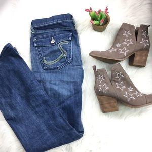 Rock & Republic Medium Wash Bootcut Jeans Size 30